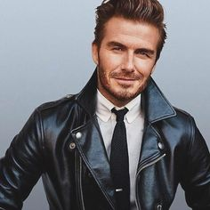 #davidbeckham #leatherjacket style  for @gq [ www.RoyalFashio ist.com ] ------///--------------------- Follow @marcospaulo.andrade