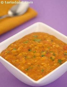 Dal is healthy, plain or spicy. But, this is one excellent dal you just cannot resist! comprising of four key varieties of pulses, cooked with onions and tomatoes, and perked up with a range of carefully chosen spices, masala dal is just the thing to have with hot rice and rotis.