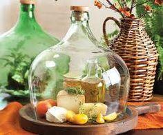 ideias com garrafas de vidro cortadas - Pesquisa Google