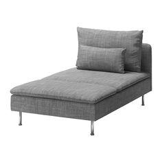 SÖDERHAMN Chaiselong - Isunda grå - IKEA