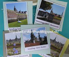 Fasters korthus: kort med Kronborg