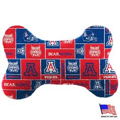 Shop where every purchase helps shelter pets! Arizona Wildcats Plush Bone Toy - from $18.85
