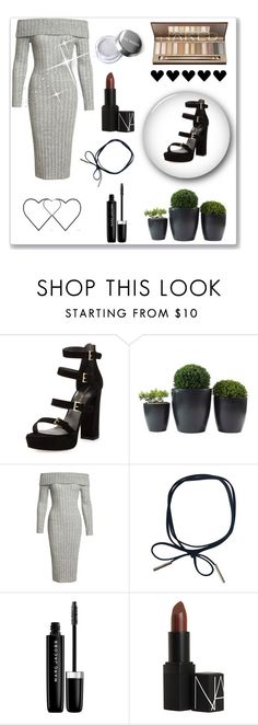 """Winter #5 ❄️"" by anna-miller10 ❤ liked on Polyvore featuring Stuart Weitzman, Sans Souci, Marc Jacobs and NARS Cosmetics"
