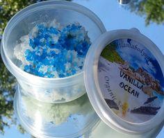 Rich Sea Salt Scrub SAMPLES body scrub samples