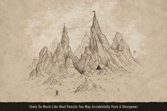 Expedition Sketchbook Pencils