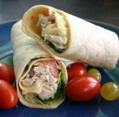 50 Recipes for Tortilla Wraps _ Bored of your daily sandwiches? This huge range of recipes for tortilla wraps will ensure your lunches will never be boring again! Perfect for kids' lunchboxes or a tasty meal at home, you'll find all kinds of ideas for tortilla fillings right here...