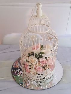 Birdcages - Table Centerpieces & Other Table Decorations - Services - Busy Bee Events - Chair Covers, Table Centrepieces, Wedding Decoration...