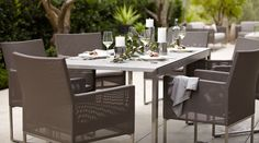 Dune dining set C&B
