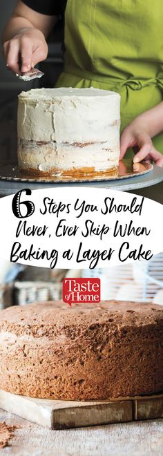 6 Steps You Should Never, Ever Skip When Baking a Layer Cake