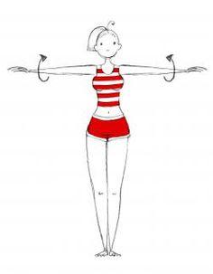 Pour un corps de rêve sous le soleil, on s'y prend maintenant avec ces quatre exercices à réaliser … Yoga Sport, Workout, Poses, Muscle, Disney Characters, Fitness, Plein Air, Silhouette, Training