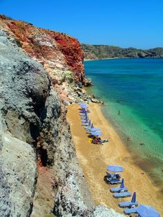 Paleochori, Milos, Greece- i've been wanting to go here