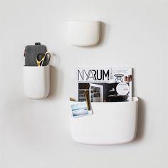Pocket Organizers from Normann Copenhagen and interior details from HAY. - Q4 Scandinavian Design