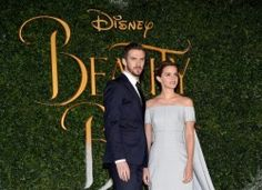 Dan Stevens & Emma Watson at the London premiere of *Beauty and the Beast*