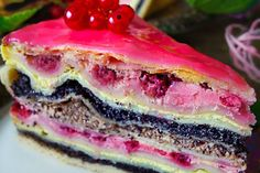Strudel tart with poppy seeds currants - Kochen & Backen - Baking Recipes, Cake Recipes, Crazy Cakes, Savoury Cake, Fabulous Foods, Food Cakes, Pumpkin Recipes, Clean Eating Snacks, Shaun The Sheep
