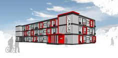 site planning container building - Pesquisa Google