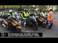 El curso práctico de conducción segura para motos registra lleno en sus sesiones en Cruces