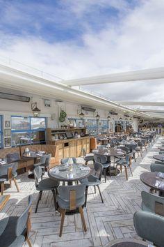 Vintage Salt rooftop bar, Selfridges