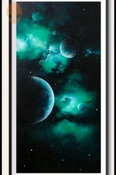 Canvas Painting Tutorials, Acrylic Painting For Beginners, Acrylic Painting Techniques, Beginner Painting, Painting Videos, Galaxy Painting Acrylic, Abstract Acrylic Paintings, Acrylic Painting For Kids, Black Canvas Paintings