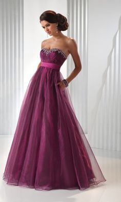 2011 Style A-line Sweetheart  Sleeveless Floor-length tulle  Bridesmaid / Evening Dresses / Prom Dresses