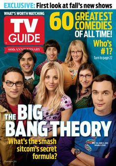 May 20, 2013 TV Guide - The Big Bang Theory