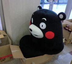くまモンと箱