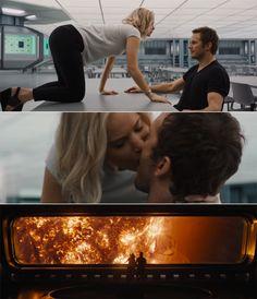 Jennifer Lawrence et Chris Pratt sont HOT dans la bande-annonce de Passengers…