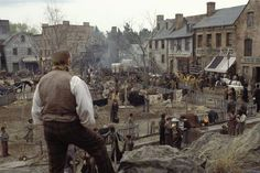 'Gangs of New York', 2002, designed by Dante Ferretti (directed by Martin Scorsese)