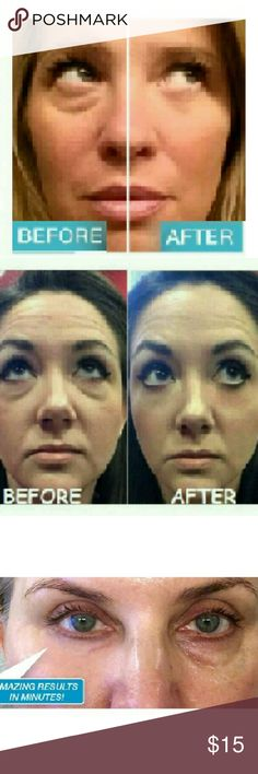 5-Instantly Ageless jeuness face eye lift cream Just Try It Amazing LOOK 10 Years Younger ! *Work in 2  or less *Results last 6-8 hours/ time *Each application provides 1-3 time *Each sachet is 0.3 ml BENEFIT  -Reduce the appearance of under-eye bags immediately -Visibly diminishes the appearance of fine lines and wrinkles -Tighten,firm and lift the appearance of sagging skin Receive : 5 sachets jeuness Makeup Eye Primer