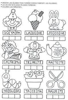 pintar y jugar: actividades para preescolar: