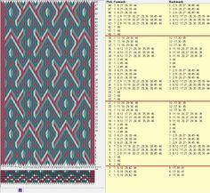 """""""Vikingos"""" - 46 tarjetas hexagonales, 4 colores, repite cada 18 movimientos // sed_405_c6_a diseñado en GTT༺❁"""