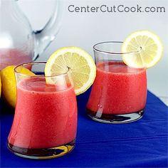 3- ingredient Frozen strawberry lemonade