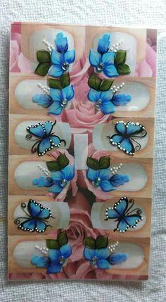 Ideas Fails Design Beach Art Tutorials For 2019 Love Nails, My Nails, Butterfly Nail Art, Funky Design, Acrylic Nail Art, Nail Stickers, Beach Art, Trendy Nails, Pink Glitter