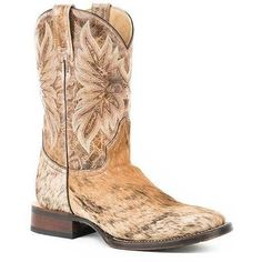 8b3e9323a906a Men's Stetson Duke Leather Boots Handcrafted - yeehawcowboy Western Cowboy,  Western Boots, Cowboy Boots