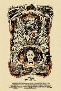 The Grand Budapest Hotel Vania Zouravliov poster
