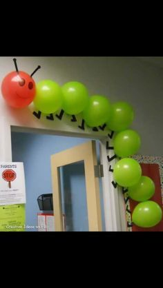 Idea Hungry Caterpillar themed kids party!