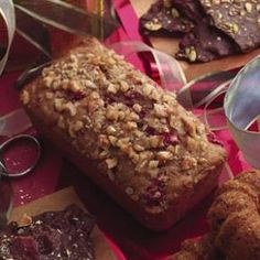 Cranberry-Nut Mini Loaves with Flaxseeds - Recipe from Eating Well.  Listed as one of their recipes to help lose weight.