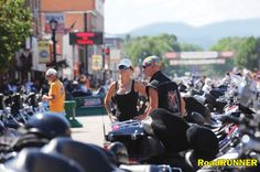 Park City, Utah to Rapid City, South Dakota: Sturgis or Bust!  Motorcycle Tour with story, info, maps, and GPS files