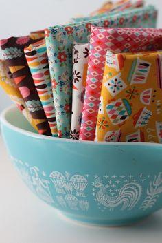 Riley Blake Vintage Kitchen fabric #iloverileyblake