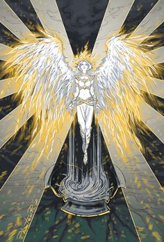 Amren unleashed. By Phantomrin. Sarah actually said during onr of her tours that Amren is a DEATH ANGEL.