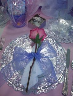 Wish we could give everyone a flower at their place setting but that's be too expensive
