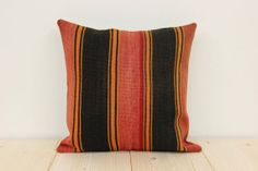 40 Y.OLD 16x16 kilim rug pillow cover Bohemian by kilimwarehouse, $18.90