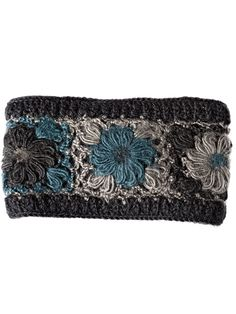 Cheery Crocheted Headband Brightens Winter's Dreariest Days