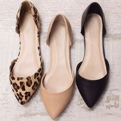 Women Leather Flats Fashion Shoes Pointed Shoes Breathable Comfortable Shoes - All About Cute Shoes, Women's Shoes, Me Too Shoes, Shoe Boots, Trendy Shoes, Business Casual Shoes Women, Flat Shoes Outfit, Golf Shoes, Loafer Shoes