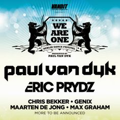1Mix Radio: First DJs for Paul van Dyk's We Are One 2014 Festi...