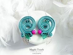 #fashion #instafashion #jewelry #dangleearrings #soutache #accessories #for #her #style #stylish #modern #woman #shopping #musthave #fall #fallfashion #autumn2016 #beautiful #artistic #ooak #nyc #la #etsy #magdotouch