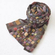 Sophie Digard - an opportunity to interpret this in crochet Nuno Felting, Needle Felting, Textiles, Nuno Felt Scarf, Felted Scarf, Textile Fiber Art, Motif Floral, Felt Art, Beautiful Crochet