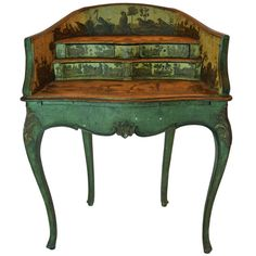 Venetian Desk | From a unique collection of antique and modern desks and writing tables at http://www.1stdibs.com/furniture/tables/desks-writing-tables/