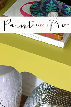 How to Paint Furniture like a Pro & achieve a Factory Like Finish!