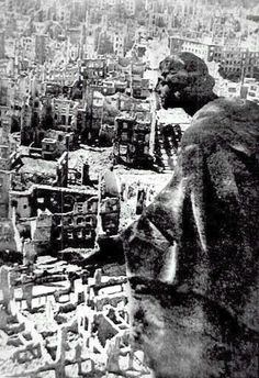 Dresden, Germany after the War. There's a ancient rome or stonehenge quality here that shows and emptiness even through the collection of damage. Dresden Germany, Luftwaffe, Dresden Bombing, German Architecture, Weapon Of Mass Destruction, United States Army, Before And After Pictures, Great Photographers, Architecture