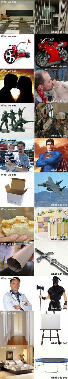 What Kids Really See